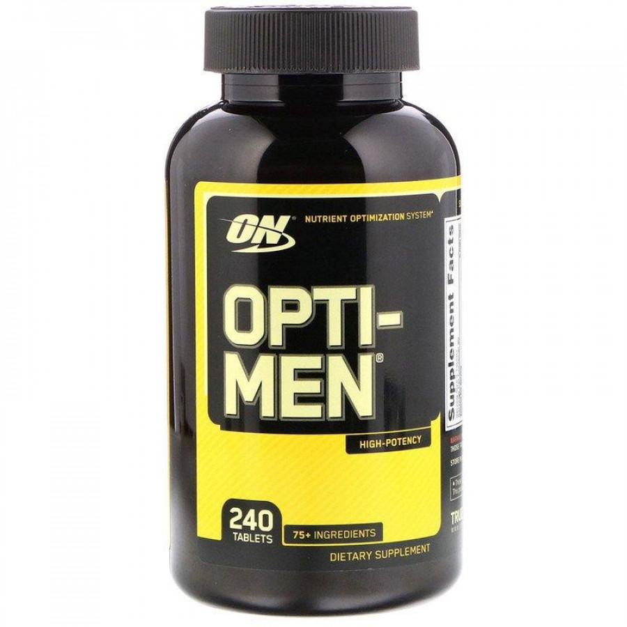 Витамины Opti-men, Optimum Nutrition, 240 таблеток